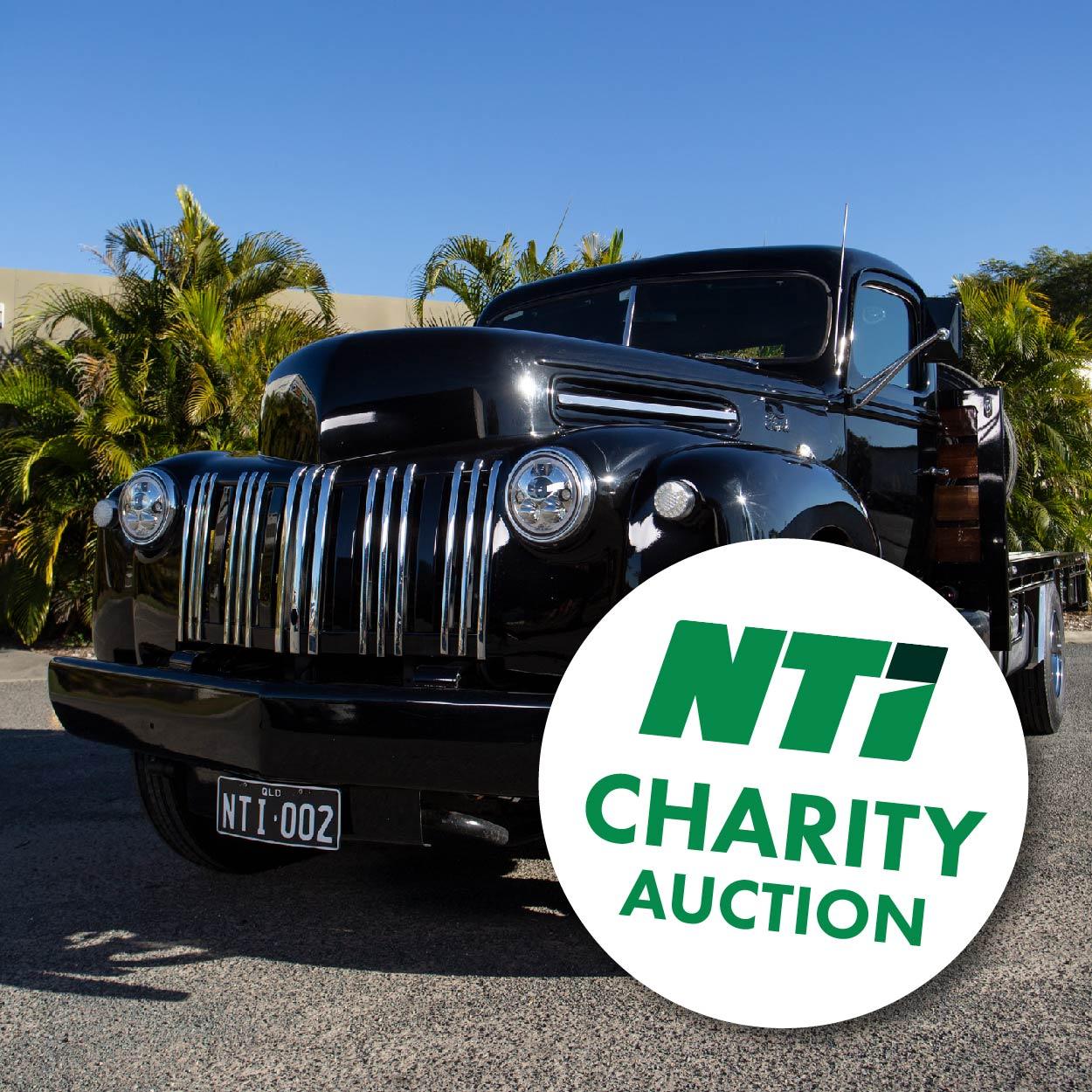 NTI charity auction